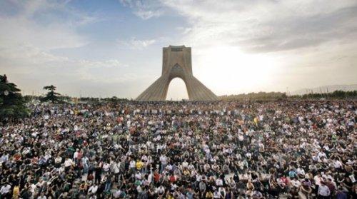 خروش ملت سبز ایران